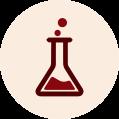 Icone de cubo de quimíca